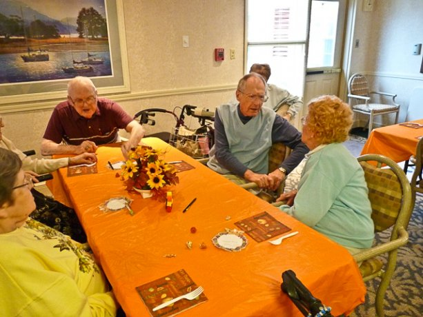 activities at nursing home
