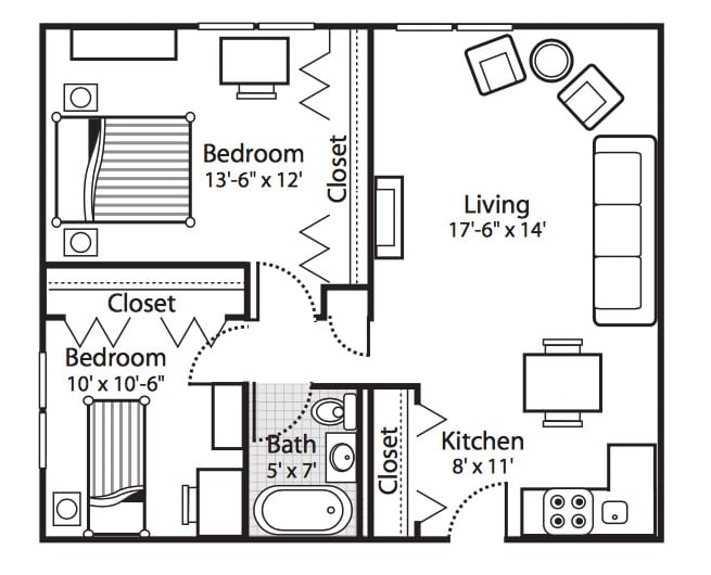 Independent Living Floor Plan